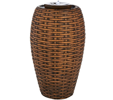 "Scott Living Tahiti 26"" Tall Woven Fountain"