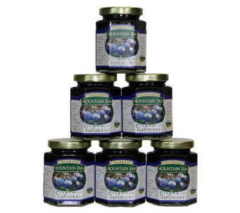 Colorado Mountain Jam Certified Organic Blueberry Jam - M111767