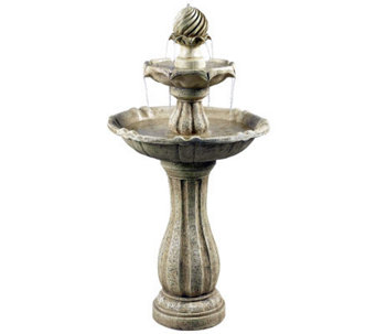 Kenroy Home Arcade Outdoor Solar Floor Fountain - M114167