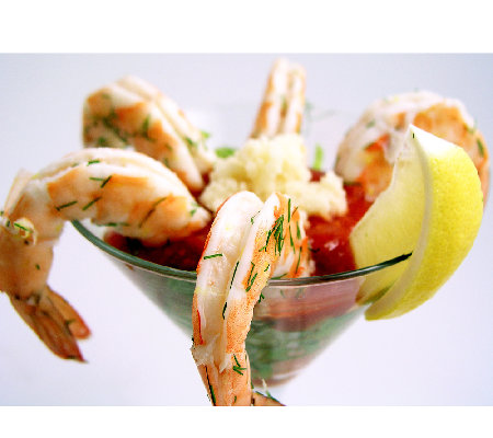 Anderson Seafoods 4 lbs Large Wild Shrimp