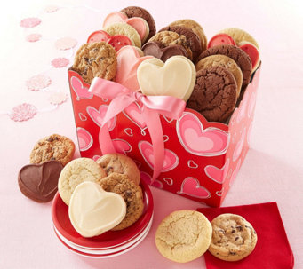 Cheryl's Valentine Day Cookie Box - M115667