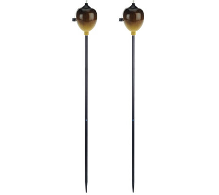 Scott Living Set of 2 5' Ombre Tiki Torches