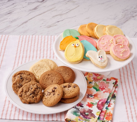 Cheryls 48 pc easter cookie assortment qvc cheryls 48 pc easter cookie assortment negle Choice Image