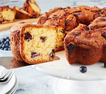"My Grandma's (1) 10"" New England Blueberry Coffee Cake - M105268"