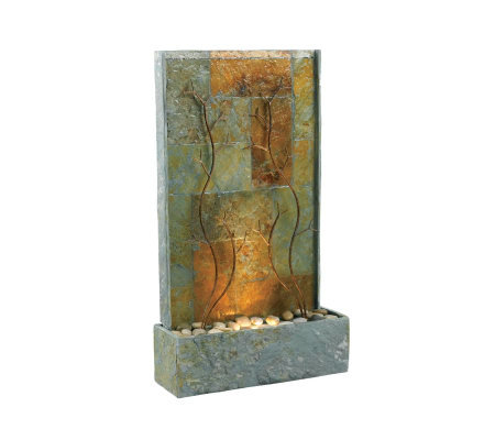 Kenroy Home Indoor/Outdoor Copper Vines Floor Fountain