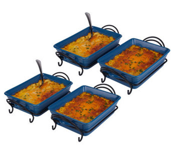 St. Clair (4) 2-lb Trays of Four Cheese Macaroni and Cheese - M113268