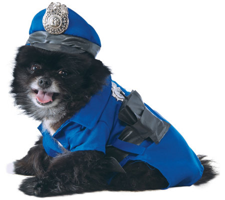 Rubie's Police Dog Pet Costume - Small