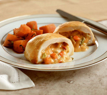 Stuffin Gourmet (8) 8 oz. Chicken Pot Pie Stuffed Wellingtons - M23368