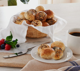 Ships 12/5 Bantam Bagels (42) 1.1 oz. Filled Bagels Holiday Pack - M51268
