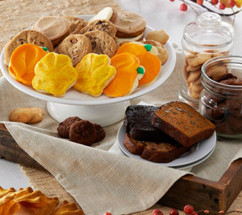 Cheryl's 70 Piece Cookie & Cake Fall Bakery Sampler - M51668