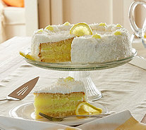 Ships 4/3 Junior's 5 lb. Lemon Coconut Layer Cake - M54268
