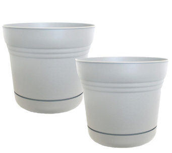 "Bloem 5"" Saturn Planter, 2-Pack - M114469"