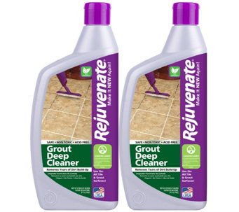 Rejuvenate Set of 2 24-oz Tile & Grout Cleaner - M114969