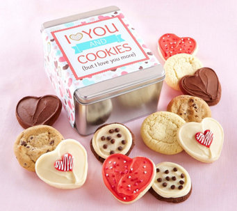 Cheryl's Valentines Tin - You and Cookies - M115669