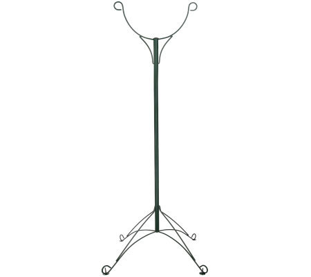 Outdoor Patio Gro Pole Dual Hanging Plant Stand