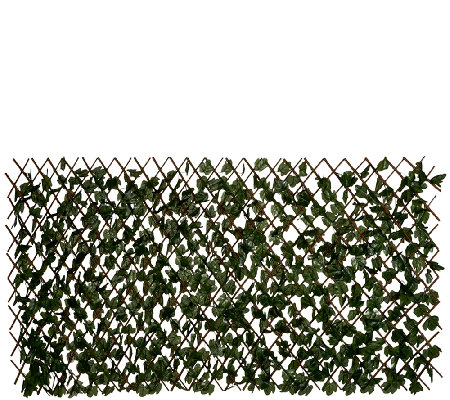 Compass Home Expandable Faux Ivy Privacy Fence Page 1