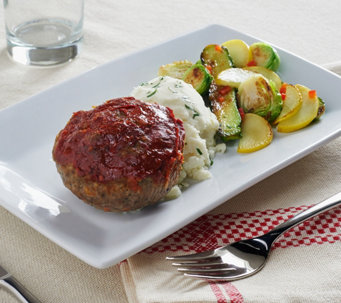 Mama Mancini's (10) 6 oz. Meatloaf Cupcakes With Sauce - M52069