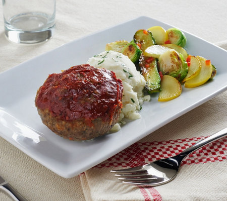 Mama Mancini's (10) 6 oz. Meatloaf Cupcakes With Sauce