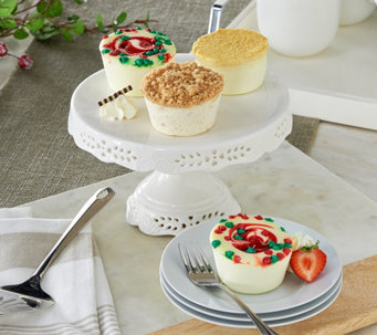 Junior's Set of 18 Seasonal Mini Cheesecake Sampler - M52769