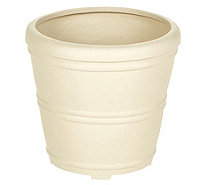 "Martha Stewart 12"" Round Planter with False Bottom - M57669"