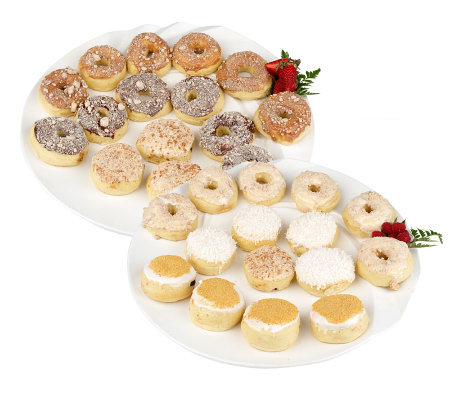 Holey Donuts! 30-piece Reduced Fat Donut Assortment