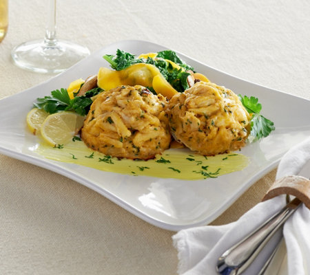 Ships 12/5 Egg Harbor (10) 4 oz. Jumbo Lump Crab Cakes