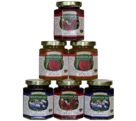 Colorado Mountain Jam Certified Organic Fruit Sampler