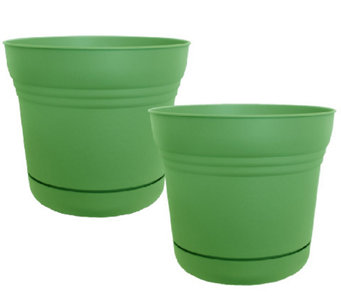 "Bloem 7"" Saturn Planter, 2-Pack - M114471"
