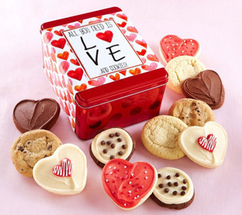 Cheryl's Valentines Tin - Love and Cookies - M115671