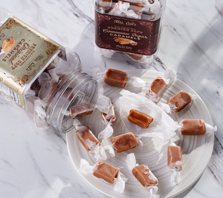 Mrs. Call's (2) 20-oz Jars of Old Fashioned Soft Caramels