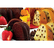 Dockside Market Chocolate Chocolate Chip & Vanilla Bundt Cakes - M115572