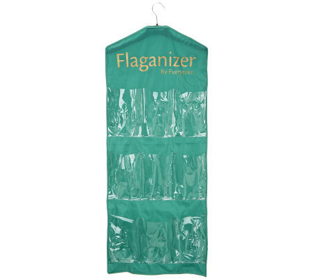 Evergreen Flaganizer with 30 Pockets