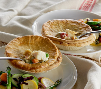 Country Chef (8) 9.5 oz. Chicken, Veggie or Combo Pot Pies - M51072