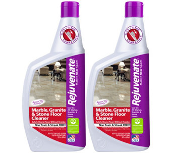 Rejuvenate S/2 32-oz Marble, Granite & Stone Floor Cleaners - M114973