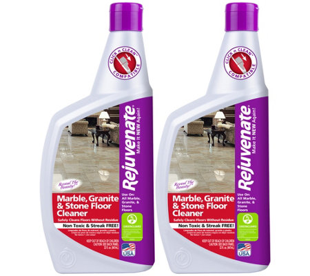 Rejuvenate S/2 32-oz Marble, Granite & Stone Floor Cleaners