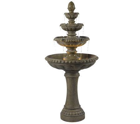 Kenroy Home Rialto Outdoor Floor Fountain