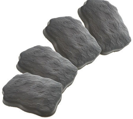 Set of 4 Smart Stone Garden Stepping Stones