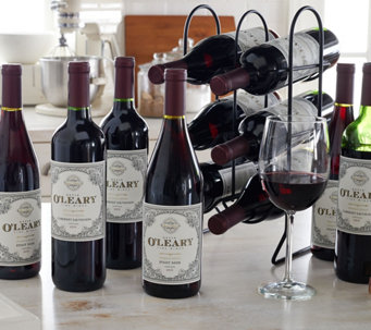 Vintage Wine Estates Kevin O'Leary 12 Bottle Set Auto-Delivery - M53774
