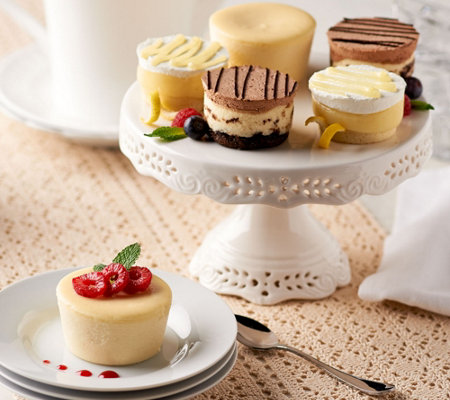 Junior's Set of 18 Sugar Free Mini Cheesecakes and Layer Cakes
