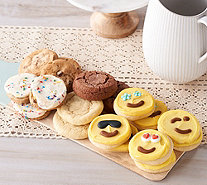 Cheryl's 24pc Cookie Assortment Featuring 8 Emoji Cookies - M55774