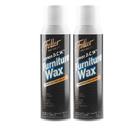 Fuller Brush Set of 2 Lemon DCW Furniture Wax