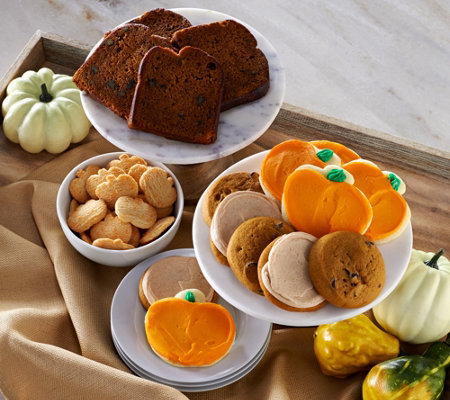 Cheryl's 45 Piece Pumpkin Lovers Cookie & Cake Assortment