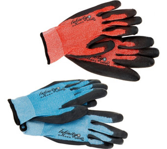 Infinity Set of 2 Pair Garden Gloves by Maxfit - M53075