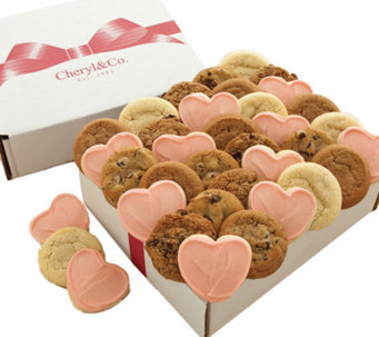 Cheryl's 36-ct Valentine's Day Assorted CookieBox - M107976