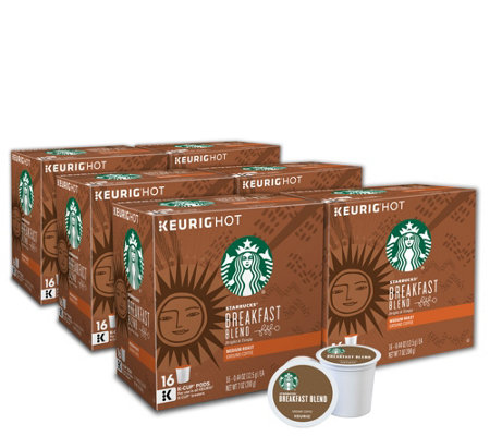 Keurig 96-ct Starbucks Breakfast Blend Coffee Pods