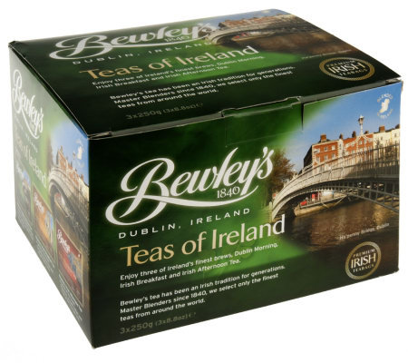 bewley 39 s set of 3 boxed irish tea bags page 1. Black Bedroom Furniture Sets. Home Design Ideas
