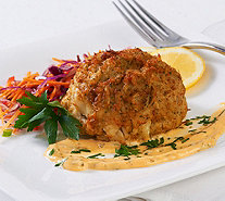 Ships 12/12 Great Gourmet (6) 8 oz. Crab Cakes Auto-Delivery - M53676