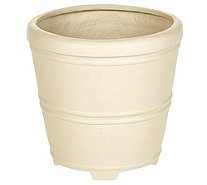 "Martha Stewart 17""Round Planter With False Bottom - M57676"