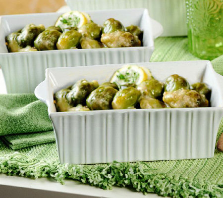 Perfect Gourmet (2) 2lb trays Braised BrusselsSprouts