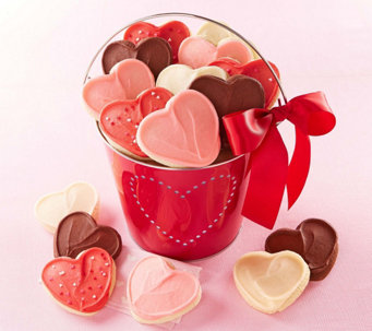 Cheryl's Valentines Day Pail of Hearts - M115677